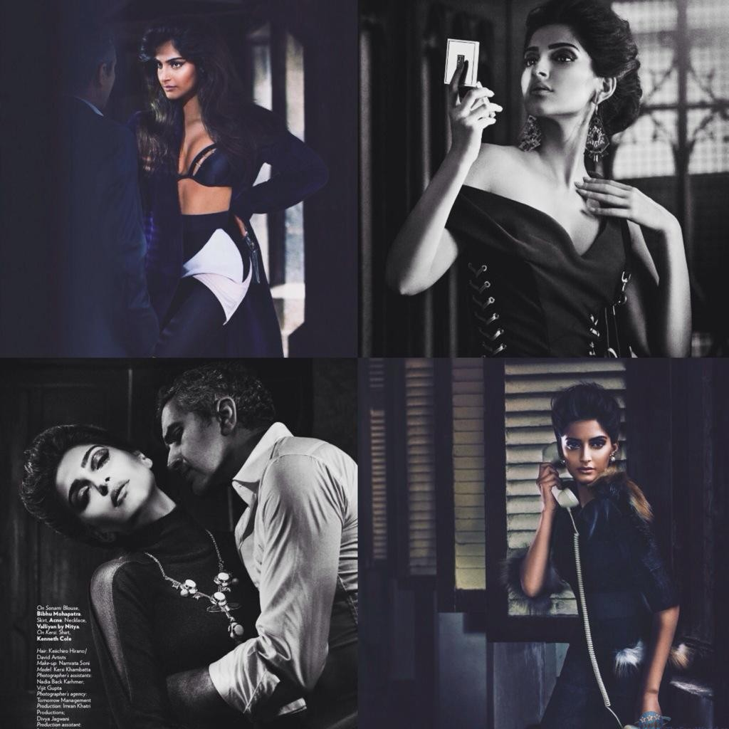 sonam kapoor's vogue's september issue | thefansworld