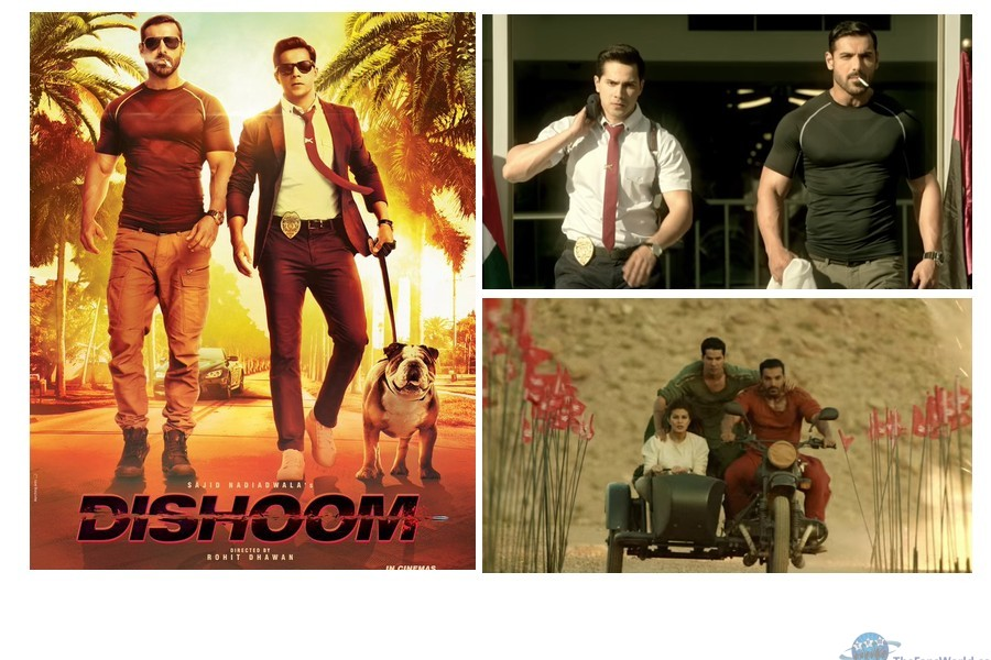 dishoom collage