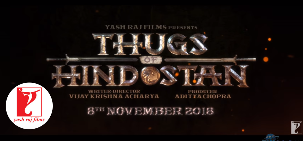 Thugs Of Hindustan - 8th November Release Date