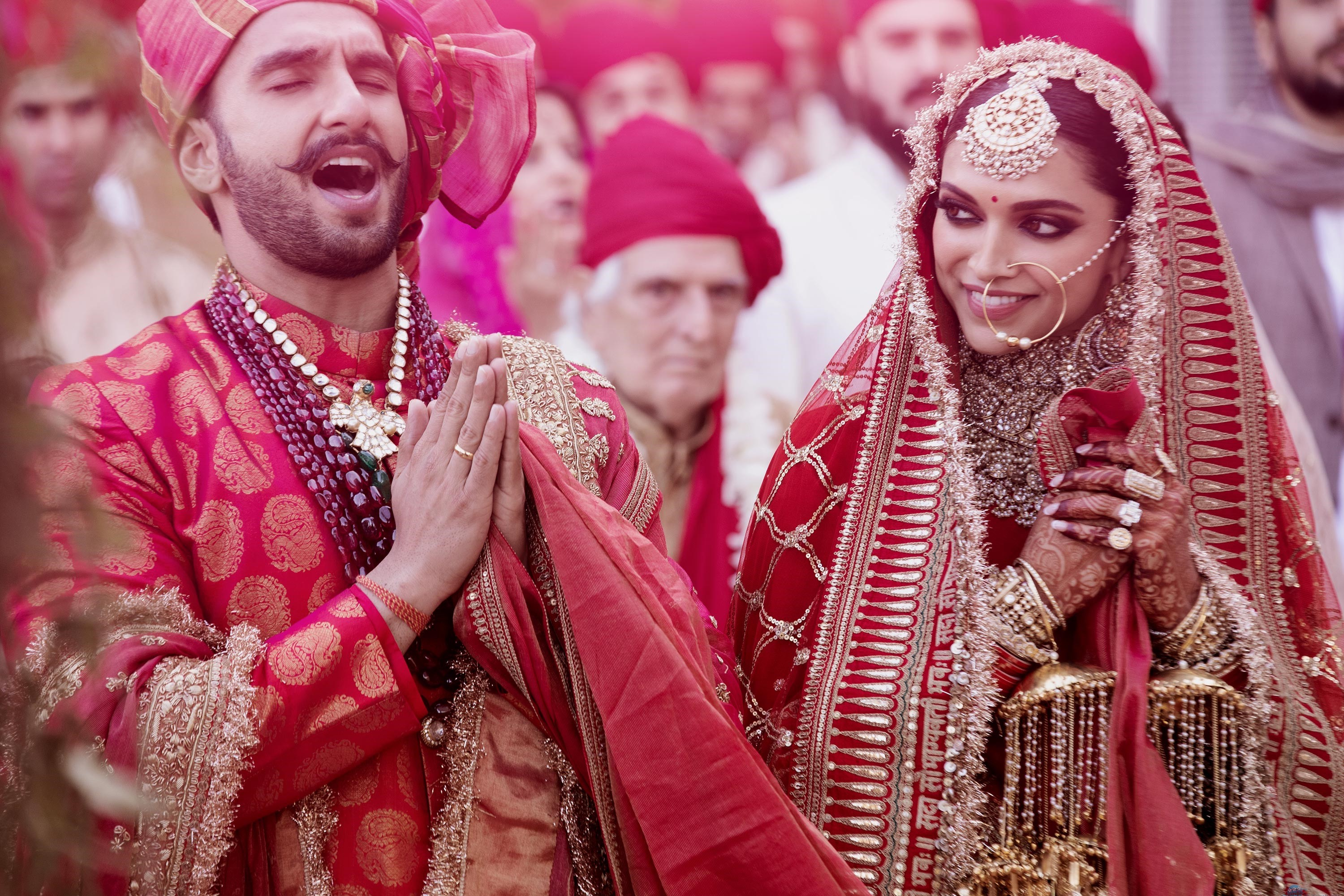 Ranveer Deepika Wedding Pictures